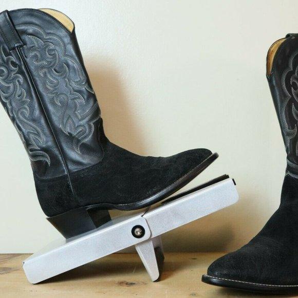 Nocona Cowboy Boots Mens size 8.5EE Black